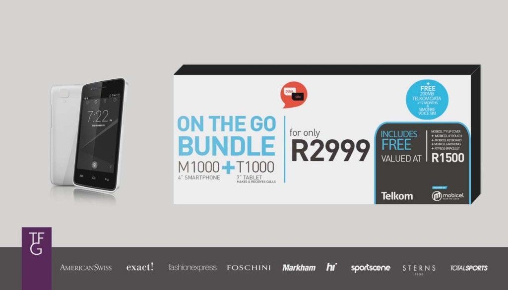 Mobicel's On the go Bundle
